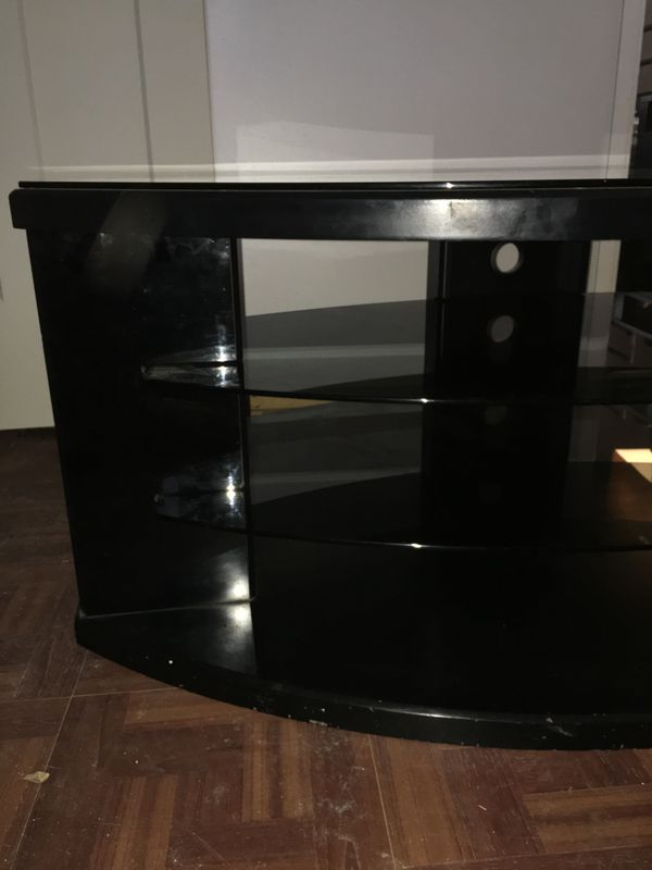 TV Media Console/Stand w/Glass Top [OBO]