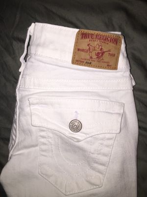 True Religion White Size 24 for Sale in North Bethesda, MD