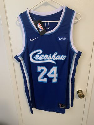 Kobe Bryant #24 blue Crenshaw jersey for Sale in Los Angeles, CA