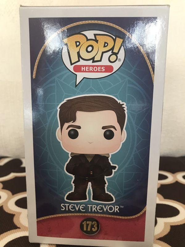 Funko POP Heroes - Steve Trevor #173