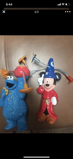 Mickey Mouse and Cookie Monster toys for Sale in La Mesa, CA