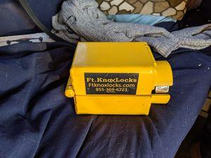 Ft. Knox Gooseneck Lock for Sale in Citrus Heights, CA