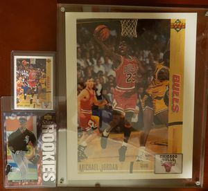 Michael Jordan trading cards for Sale in Chicago, IL