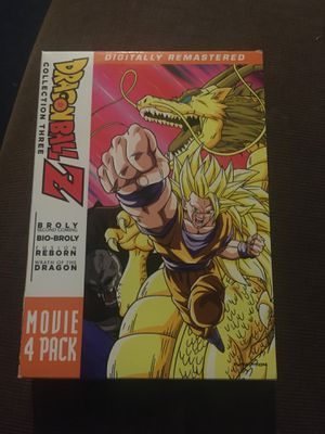 Dragon ball movie collection for Sale in Phelan, CA