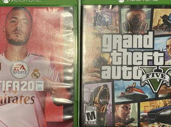 3 Videogames for XBOX ONE ,Fifa 19,Fifa 20 and GTA5 for Sale in SeaTac,  WA