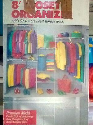 8' ft closet organizer for Sale in Lynnwood, WA
