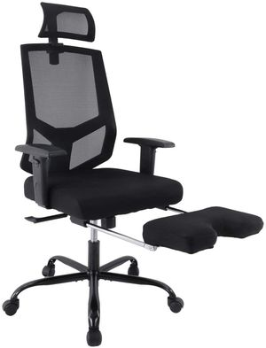 Ergonomic Mesh Office Chair with Adjustable Headrest and Footrest for Sale in Houston, TX