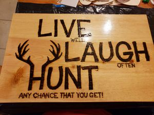 Customizable Wood Burned Signs for Sale in Sturgis, KY