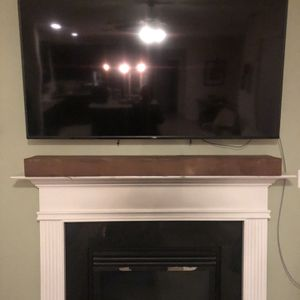 Rustic Solid Walnut Fireplace Mantle for Sale in Virginia Beach, VA