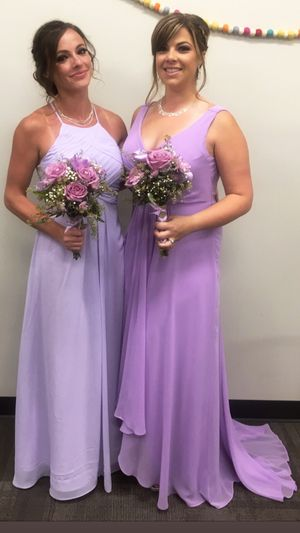Lilac dress size 4 for Sale in Marietta, GA