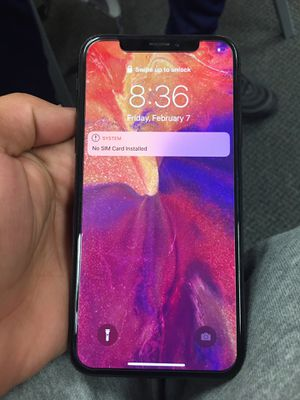 Iphone x cracked and locked out for Sale in Wichita, KS