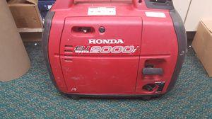 Honda EU2000I Companion Super Quiet 2000 Watt Portable Generator for Sale in Baltimore, MD