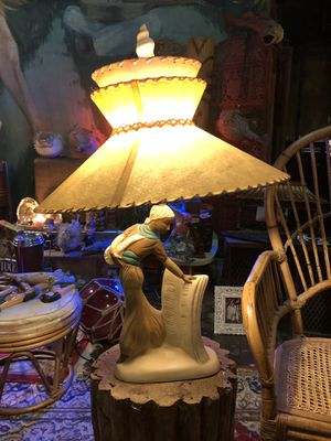 Antique Vintage 1950s Mid Century Lamp for Sale in Fort Lauderdale, FL