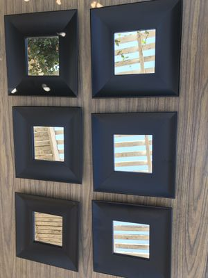 6 Mini Wall Mirrors for Sale in Montclair, CA