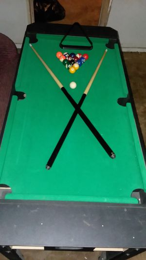 Mini pool table/ air hockey for Sale in Las Vegas, NV