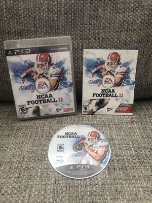 PS3 - PlayStation 3 - NCAA Football 11 CIB for Sale in Fresno, CA