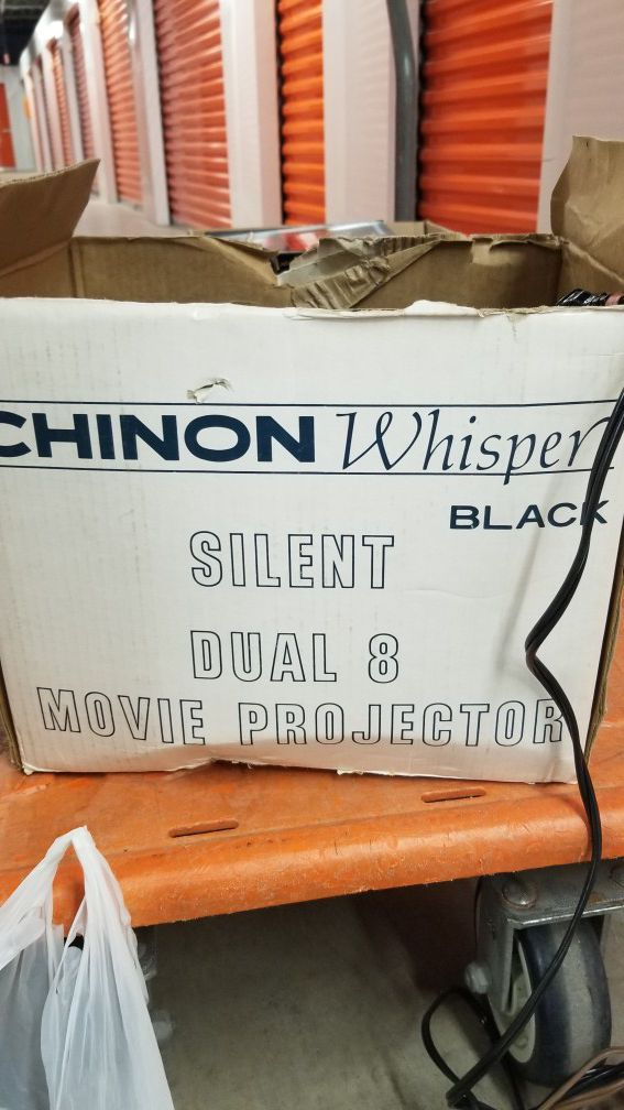 Chinon dual 8mm movie camera