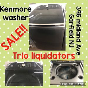 Kenmore Washer SALE !! for Sale in Garfield, NJ