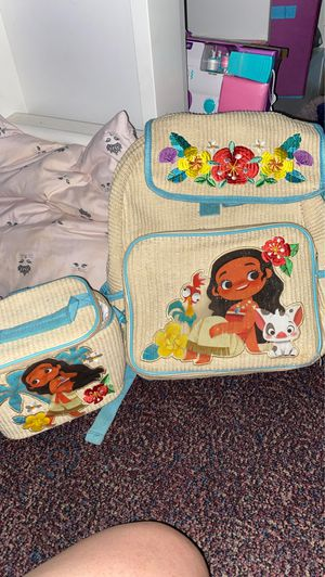 Moana Disney backpack for Sale in Grand Prairie, TX