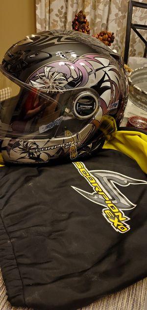Womens Scorpion Exo Motorcycle Helmet W/ Bag for Sale in Woodbridge, VA