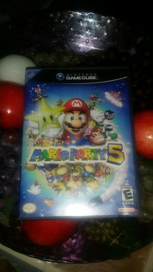 Mario party 5 game cube for Sale in Peoria, AZ