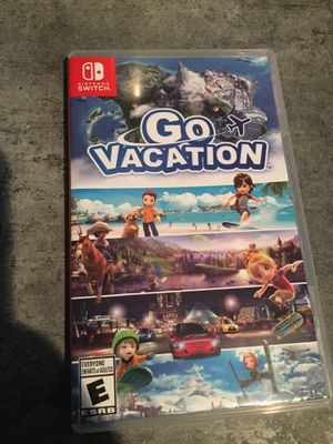 GO VACATION FOR NINTENDO SWITCH for Sale in Nashville, TN