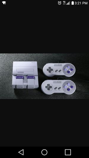 Super Nintendo Classic Hacked Brand New for Sale in Las Vegas, NV