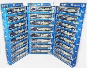 24 PCS - ONE CASE SAN DIEGO PADRES MLB BASEBALL 1:80 TOY DIECAST SEMI TRUCK 2009 for Sale in Glendora, CA