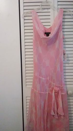 Pink Silk Dress By: Jonathan Martin for Sale in HALNDLE BCH, FL