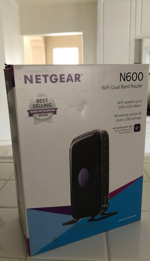 Netgear dual band wireless router for Sale in Mission Viejo, CA