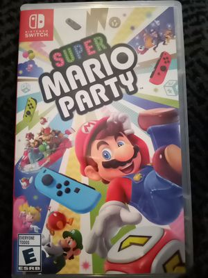 Super mario party for Sale in Bakersfield, CA