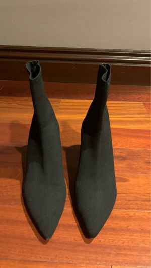 ZARA Women Sock Heel Bootie 40 Size for Sale in Sunland-Tujunga, CA