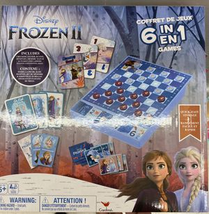 "DISNEY FROZEN 2 ""6 IN 1"" BOARD GAMES $20 for Sale in Anaheim, CA"
