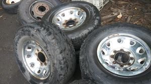Superduty wheels and tires for Sale in Kent, WA