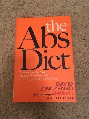 The Abs Diet book by David Zinczenko for Sale in Alexandria, VA