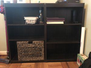 Two bookshelves for Sale in Orlando, FL