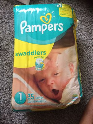 Size 1 Pampers for Sale in Columbus, OH