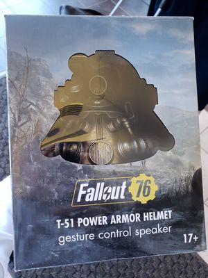 fallout 76 bluetooth speaker helmet for Sale in Chicago, IL