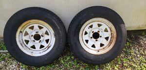 Trailer wheels for Sale in Zephyrhills, FL