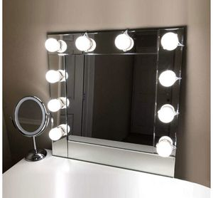 NEW! Vanity Lights Kit Hollywood Style Makeup LED Light Bulbs with Stickers Attached to Bathroom Wall or Dressing Mirrors, Dimmable Switch, Power Plu for Sale in Stuart, FL