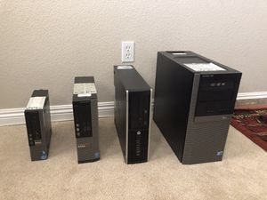 All model computers available as well... i3's/i5's/i7's And Core2 Duo's (HP, Lenovo, Acer and Dell computer ( $75-600) for Sale in Las Vegas, NV