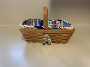 Longaberger summer basket for Sale in Cypress, TX