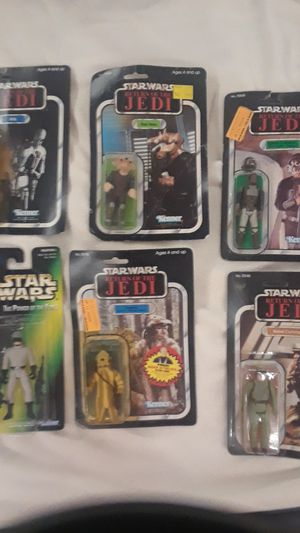 1983 star wars return of the Jedi figuresNo for Sale in Sun City, AZ