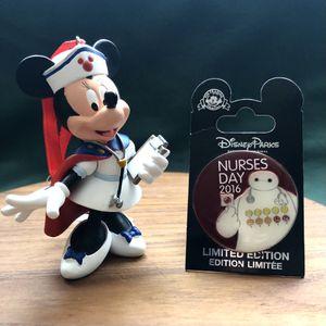 Disney Nurses day 2016 Pin with Nurse Minnie Ornament for Sale in Moreno Valley, CA