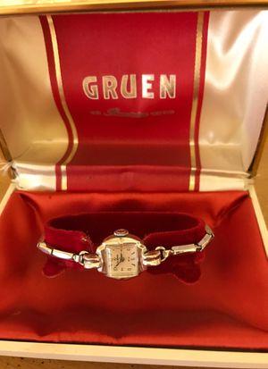 Ladies Gruen watch for Sale in Young, AZ
