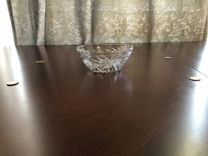 Ash tray bowls (ridged or smooth rim) heavy glass for Sale in Richmond, KY