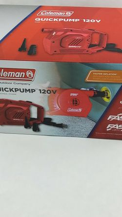 Coleman 120 Volt Electric Handheld Pump for Sale in Stonecrest,  GA