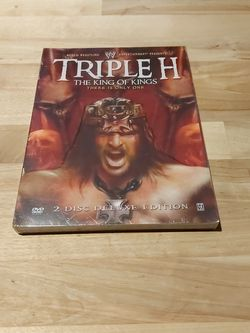 WWE Tripple H The King Of Kings DVD for Sale in Beaverton,  OR