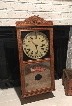 Antique Dr. Pepper Vintage Clock - Regulator for Sale in Portland, OR