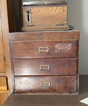 Antique File Cabinet for Sale in Oakbrook Terrace, IL